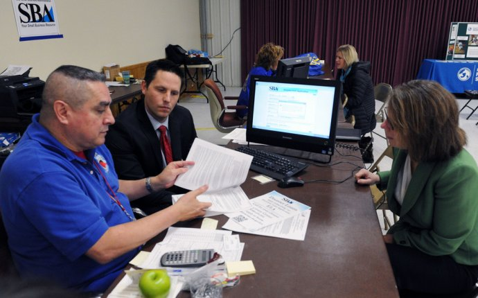 U.S. Small Business Administration Visits Disaster Recovery Center