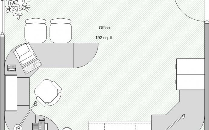 Small Business Office Floor Plan